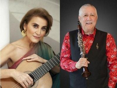 """Berta Rojas y Paquito D'Rivera fueron homenajeados con el título """"Honoris Causa"""""""