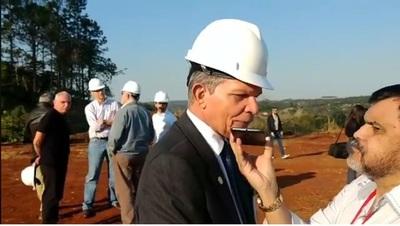 Obras de segundo puente comenzaron hoy en Brasil
