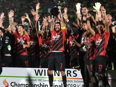 Athletico Paranaense conquista otro título internacional