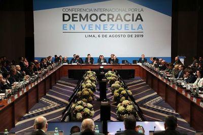 Con pocas novedades y protagonismo de EE.UU. concluye cumbre sobre Venezuela