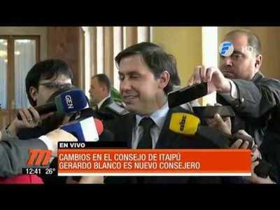 La primera movida de Mario Abdo entre consejeros de Itaipú