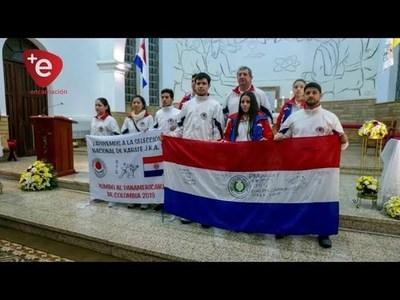 KARATECAS  ITAPUENSES AL PANAMERICANO DE COLOMBIA