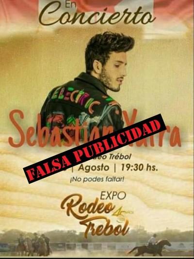 Desmienten participación de Sebastián Yatra en la Expo Rodeo Trébol