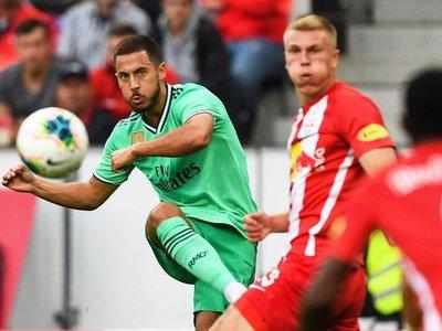 """Hazard tras su primer gol: """"Por fin ha llegado y estoy muy contento"""""""