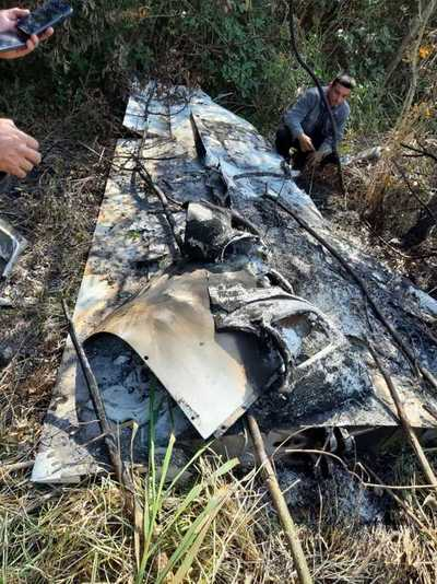 Ñeembucú: Presumen que avioneta incinerada transportaba droga