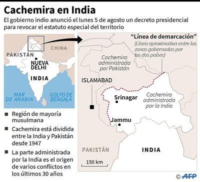 Pakistán expulsa a embajador indio por  la crisis en torno a Cachemira