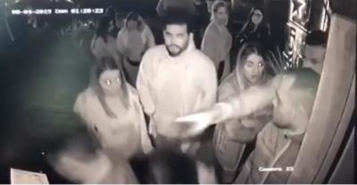 """HOY / Mujer denuncia a hijo de exviceministro de Defensa: """"Me golpeó de la nada"""""""