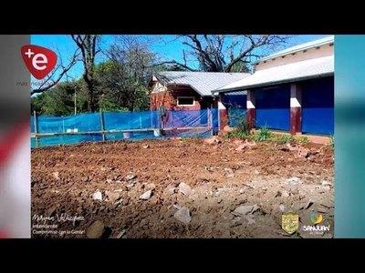 SAN JUAN DEL PARANÁ: MUNICIPIO EJECUTA MEJORAS EN EDIFICIOS ESCOLARES