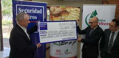 Aseguradora abonó indemnización por incendio en FrigoChorti