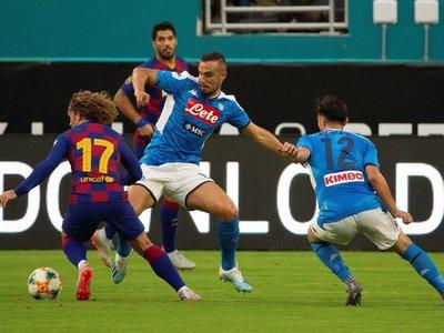 El Barcelona se impone con esfuerzo al Napoli
