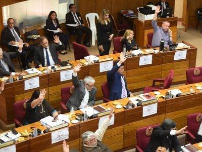 Senadores opositores critican inestabilidad política e incapacidad de Mario Abdo