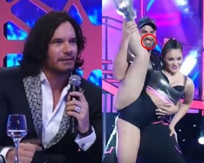 """Mario Cimarro le pidió a participante de """"Baila"""" que """"esconda"""" la dentadura"""