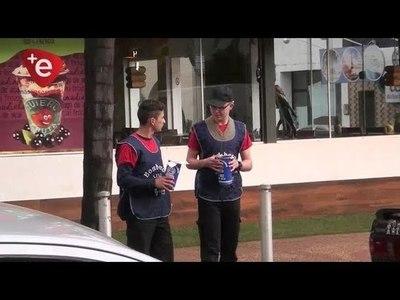 EN ALCANCÍAS, BOMBEROS JUNTAN Gs. 50 MILLONES