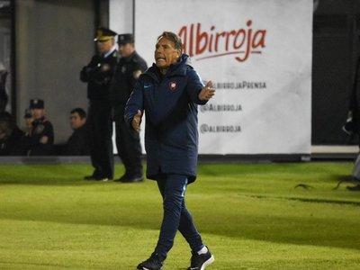 """Russo, duro con """"algunos"""" jugadores de Cerro Porteño"""