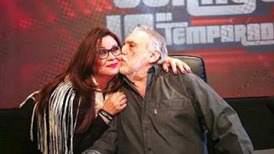 Lizza Bogado agradecida con Humberto