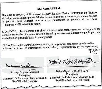 """Hay 13 pedidos de informes en el Legislativo brasileño sobre el """"Acta"""""""