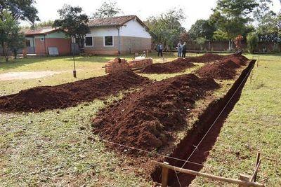 Inician construcción de aulas en San Ramón