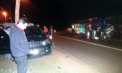 Un hombre murió arrollado en Ypacaraí