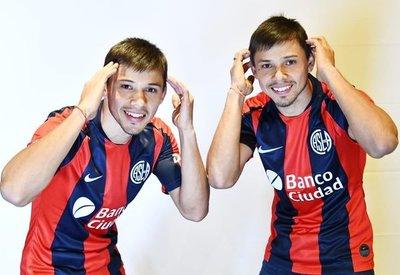 Los mellizos Romero, nuevos jugadores de San Lorenzo de Almagro