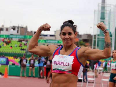 Camila Pirelli logra el cuarto puesto en heptatlón