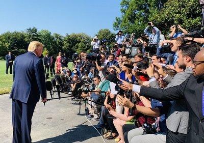 Trump dice que EEUU «no está listo» para un acuerdo comercial con China