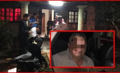 Colombiano condenado en Brasil es detenido en Pdte. Franco