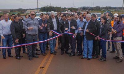 Inauguran ruta Naranjal-San Cristóbal
