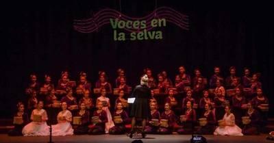 CORO DEPARTAMENTAL DE ITAPÚA DA CAPO PARTICIPÓ DE LA 2° EDICIÓN DEL FESTIVAL VOCES EN LA SELVA ARGENTINA