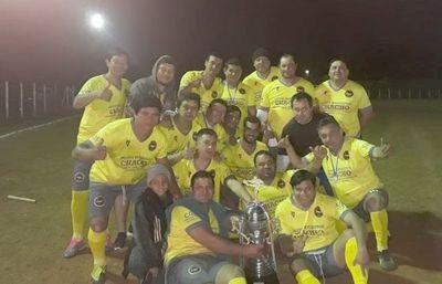 Independiente Unidos, bicampeón en Luque
