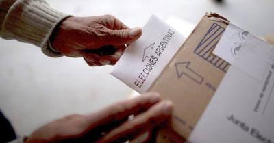 Primer testeo presidencial en Argentina