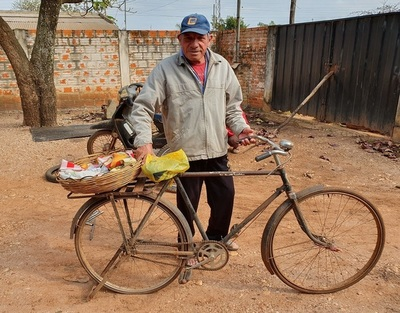 Vendiendo chipa hizo estudiar a sus hijos