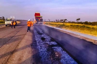 Alto Paraguay tiene sus primeros kilómetros de ruta asfaltada