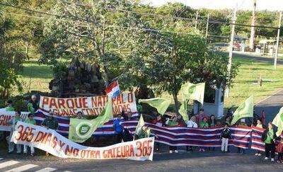 Invitan a manifestación para recuperar ciclovía del Parque Guasu