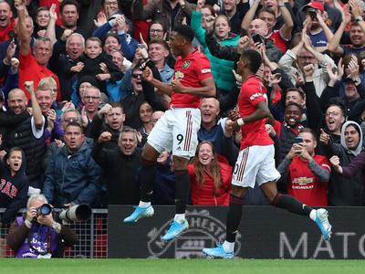 Arranque a toda orquesta de Manchester United