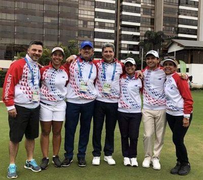 Histórica participación de delegación de golf