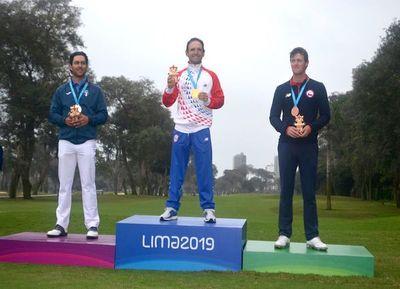 El golf tiñe de oro y plata a Paraguay