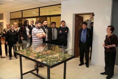 Estudiantes de Derecho visitan Museo de la Justicia