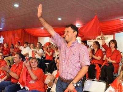Richard Ramirez, electo presidente de la Junta Departamental