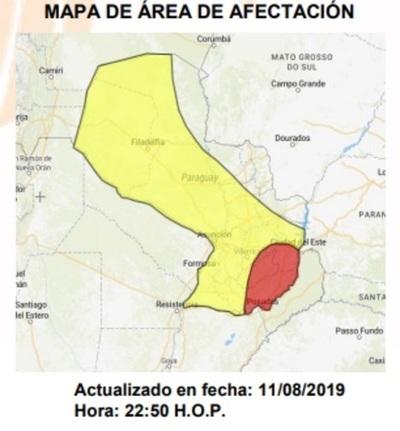 Informe Meteorológico 12-08-19