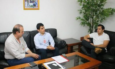 Coordinan tareas entre la Itaipu y la Municipalidad de CDE