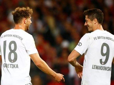 Bayern gana cómodamente y avanza