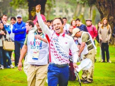 Golf guaraní de ORO en los Panamericanos