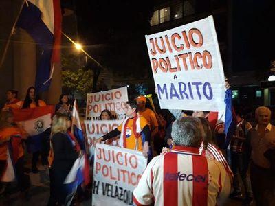 """Policía denuncia supuesta convocatoria a """"revolución popular"""""""