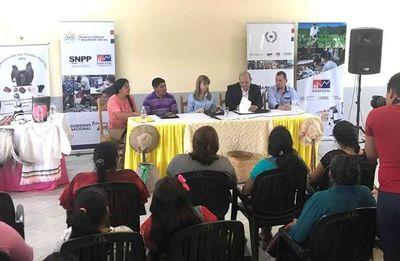 Ministerio de Trabajo firma convenios en el Chaco