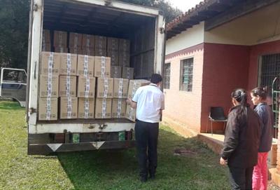 Salud Pública entrega más de 42.000 kilos de leche fortificada a servicios de Caaguazú