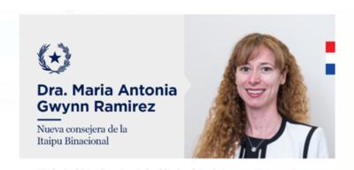 PhD y Magister como consejera de Itaipú