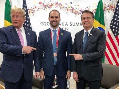 Fiscalía brasileña busca que hijo de Bolsonaro no sea embajador