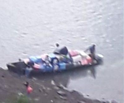 Marinos y Aduaneros cómplices del contrabando en Tres Fronteras