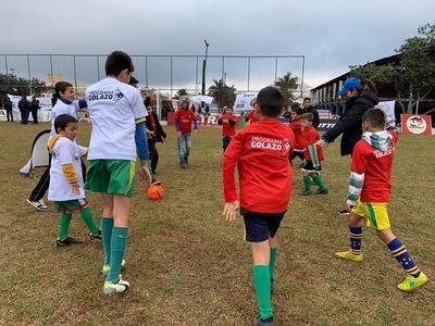 Nueva jornada del Programa Golazo en Caaguazú