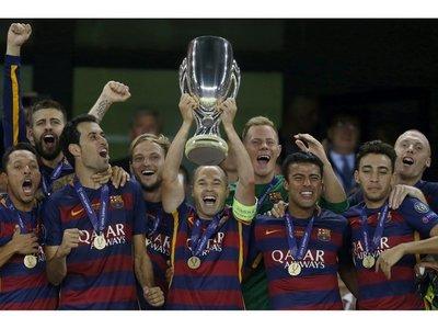 Barça conquista Supercopa tras triunfar en la prórroga